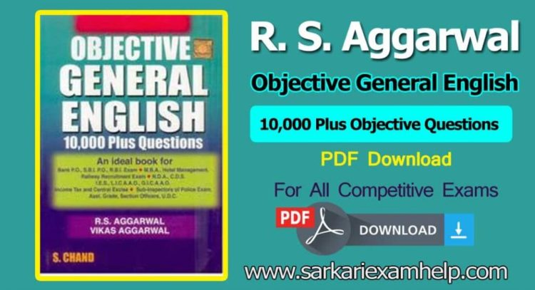 latest 2019*} Free Download R  S  Aggarwal Objective General