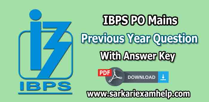ibps po model papers free download
