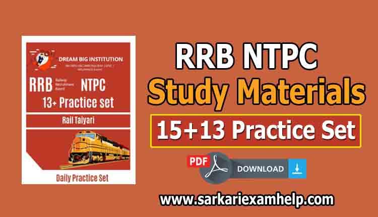 RRB NTPC Book PDF