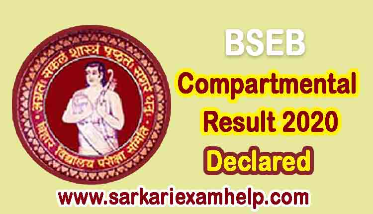 BSEB Compartmental Result 2020