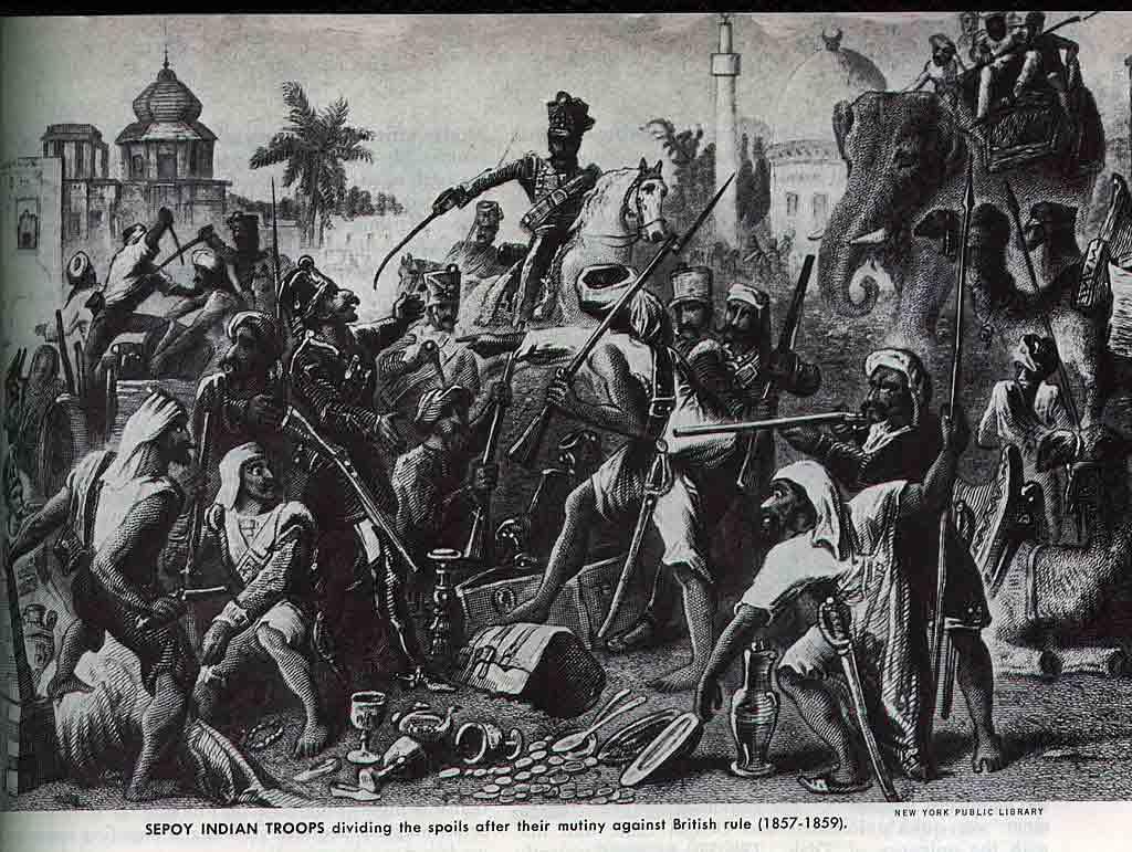 revolution of 1857 in hindi