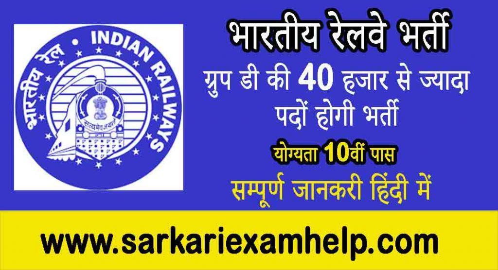Indian Railway Bharti 2021 Latest News